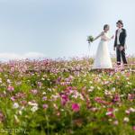淡路島で結婚記念撮影