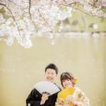 奈良で和装ロケーション撮影